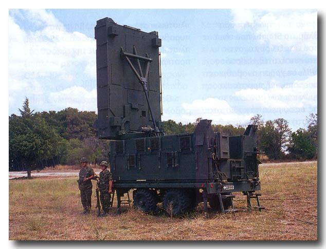 AN/TPQ-37 Firefinder radar
